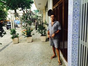 Zelador relata que ficava assustado com as vibrações causadas no prédio pelo Tatuzão (Foto: Janaína Carvalho / G1)