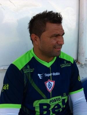Cristiano Tiririca, Itabaiana (Foto: Felipe Martins / GLOBOESPORTE.COM)