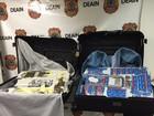 Homem e mulher são presos com haxixe no Aeroporto Tom Jobim, Rio
