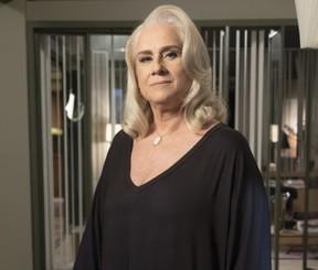 Vera Holtz como Magnólia na novela A Lei do Amor (Foto: Globo/Renato Rocha Miranda)