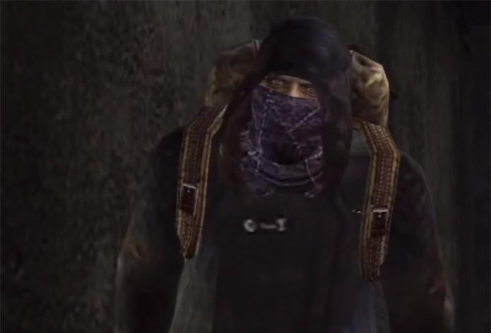 Merchant é um personagem marcante de Resindel Evil 4, que acabou inspirando outros, como Xûr, o vendedor de Destiny (Foto: Reprodução/YouTube)