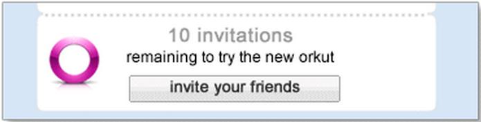 Convites para o Orkut, quem não lembra de ter pedido ou enviado um? (Foto: Reprodução/Google/Orkut)