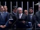 Em cerimônia de 11 minutos, Temer é empossado presidente da República