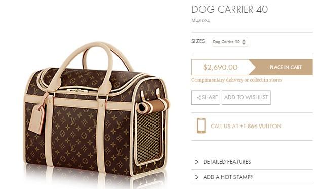 Bolsa De Transporte Para Cães Louis Vuitton : Lady gaga transporta cachorro em bolsa de r mil quem
