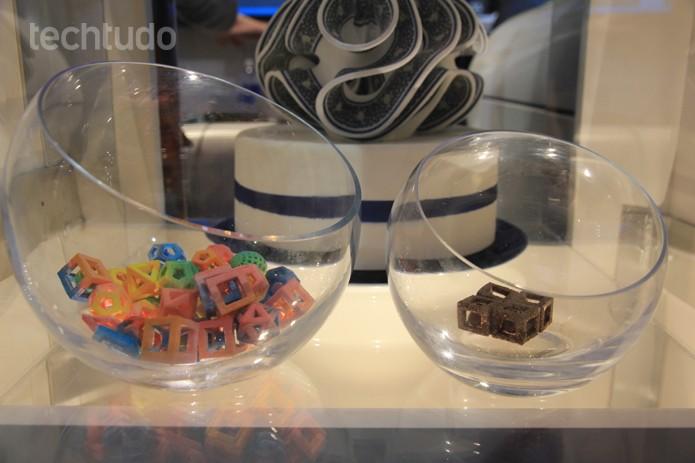 Impressora 3D de doces (Foto: Monique Mansur/TechTudo)