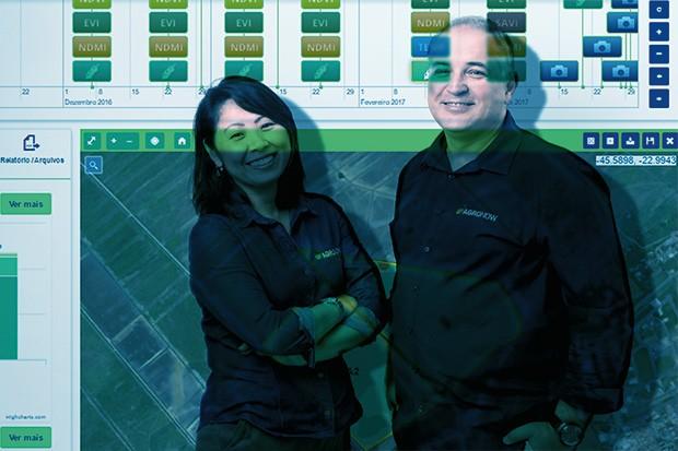 Empresa;Agronegócio;Persistência Walkiria Sassaki e Antonio Morelli levaram dez anos para desenvolver o produto (Foto: Fotomontagem sobre foto de Marcus Steinmeyer)