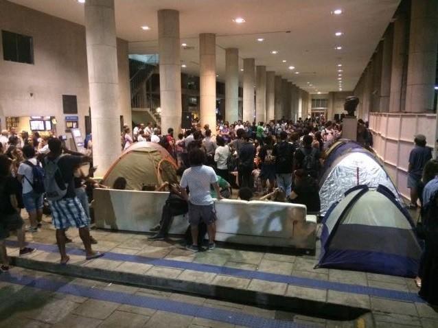 Estudantes ocupam a PUC-Rio