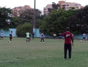 Jogadores treinaram normalmente nesta terça-feira (Foto: Diego Gavazzi/TV Rio Sul)