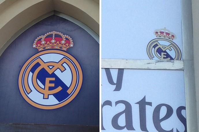 Escudo do Real Madrid não exibe cruz na coroa espanhola