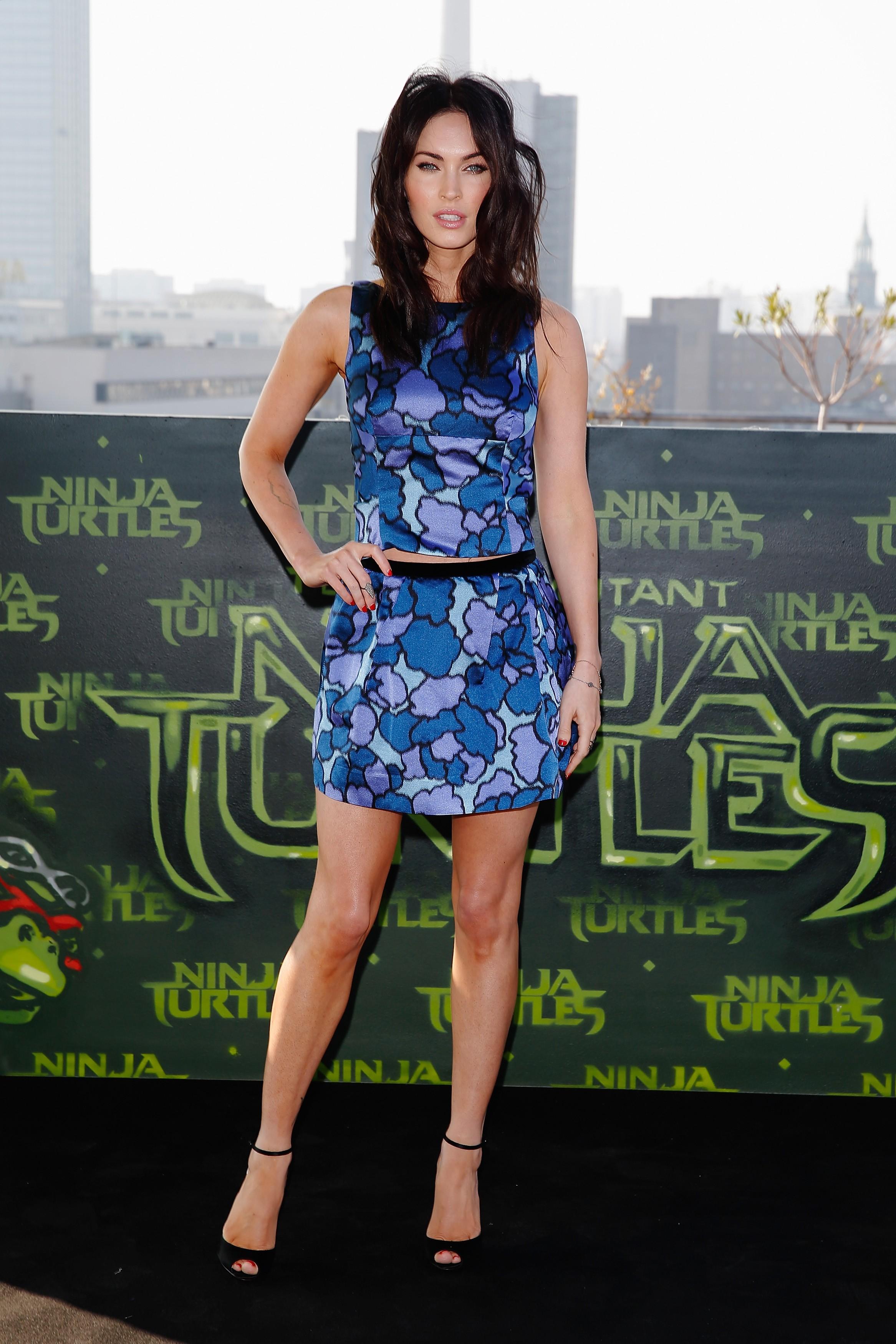 A mais recente intérprete da jornalista aliada das Tartarugas Ninjas, April O'Neil, Megan Fox é mãe de dois filhos, ambos de seu casamento com o ator Brian Austin Green. (Foto: Getty Images)