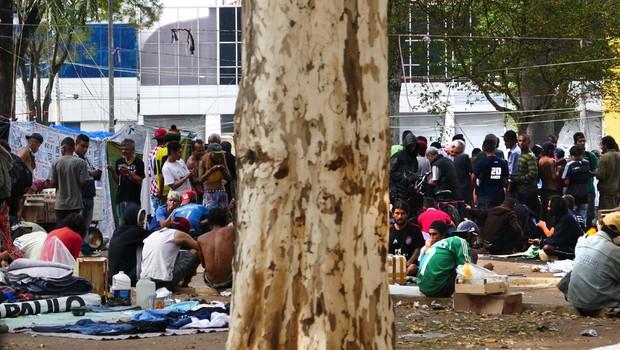 Na Praça Princesa Isabel cresce o número de moradores e usuários de drogas, após intervenção da gestão Doria na Cracolândia (Foto: Juarez Santos/Fotos Públicas)