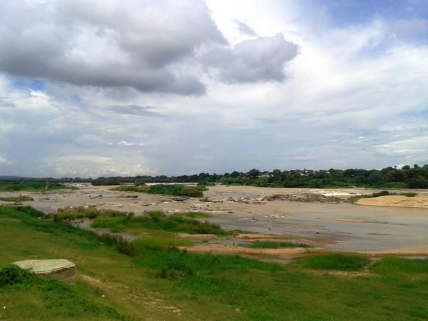 Rio São Francisco em Pirapora, no Norte de Minas Gerais (Foto: Michelly Oda / G1)