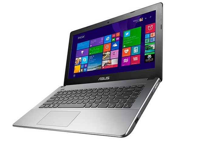 Asus X450LD tem 8GB de memória RAM (Foto: Divulgação/Asus)