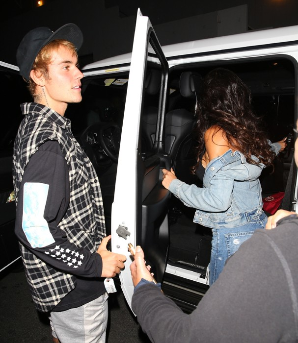 Justin Bieber e Paola Paulin (Foto: AKM)