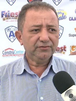 Essuélio Morais, Atlético-PB, Atlético de Cajazeiras (Foto: Reprodução / TV Paraíba)
