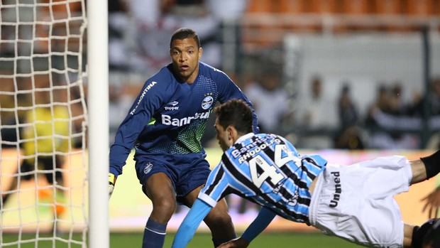 Dida Corinthians x Grêmio (Foto: Marcos Ribolli / Globoesporte.com)