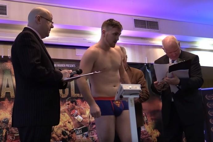 Jamie Kavanagh boxe (Foto: reprodução You Tube)