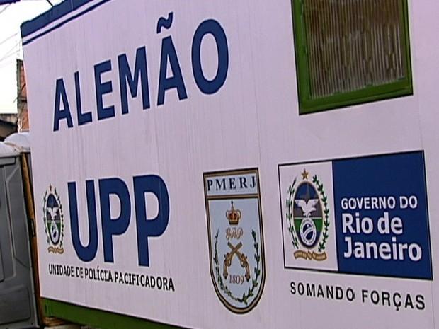 UPP do Alemão (Foto: Reprodução Globo News)