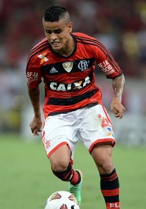 Everton, Flamengo x Emelec (Foto: Alexandre Vidal/Fla Imagem)