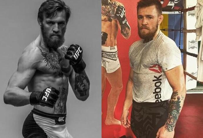 Conor McGregor peso-pena peso-leve UFC (Foto: Reprodução/Twitter)