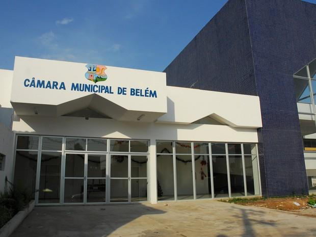 câmara municipal de belém (Foto: Dirceu Maués)