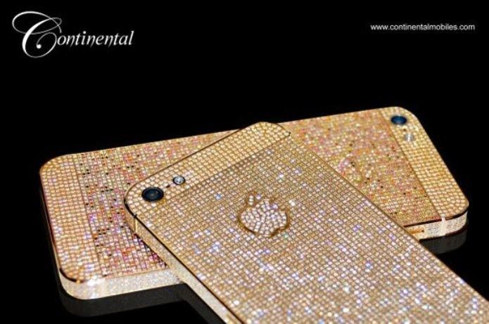 Celulares cravejados de diamantes (Foto: Reprodução/GSM Arena)