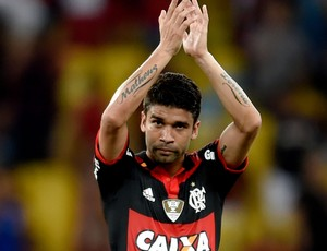 Eduardo da Silva Flamengo gol Atlético-MG Brasileirão (Foto: Agência Getty Images)