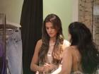 Bruna Marquezine faz compras com a mãe