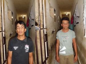 Suspeitos já tinham passagem pela polícia por furto (Foto: Divulgação/Polícia Civil)