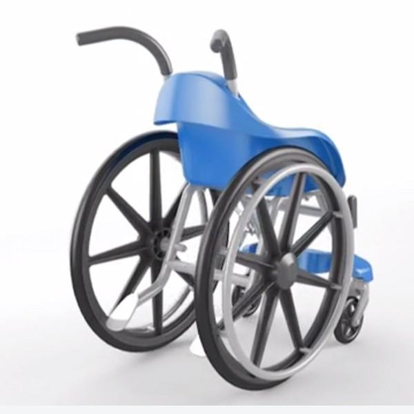 cadeira de rodas (Foto: Reprodução/Vimeo)
