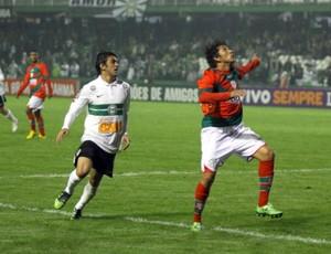 Robinho Coritiba x Portuguesa (Foto: Divulgação / Site oficial do Coritiba)