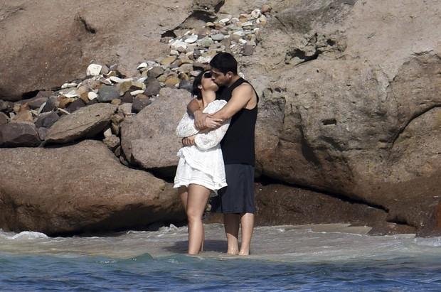Demi Lovato e Wilmer Valderrama (Foto: Grosby Group)