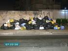 Com greve de coletores, lixo se acumula nas ruas do ABC
