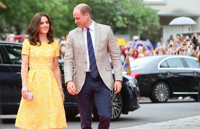 Kate Middleton surge fresh e elegante na Alemanha (Foto: Getty Images)