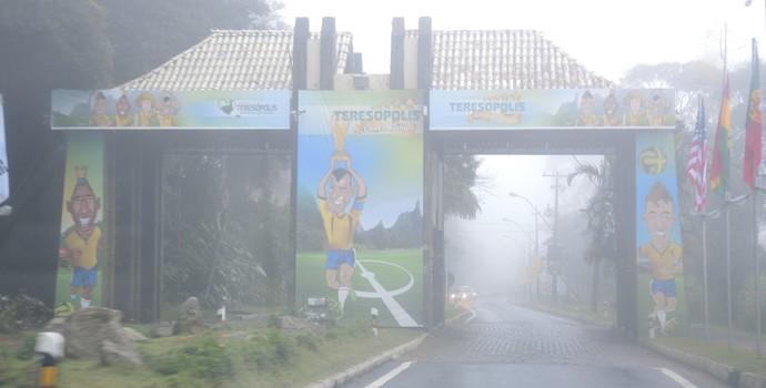 Caminho Teresópolis (Foto: Alexandre Lozetti/GloboEsporte.com)