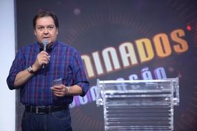 Fausto Silva (Foto: Globo/Zé Paulo Cardeal)