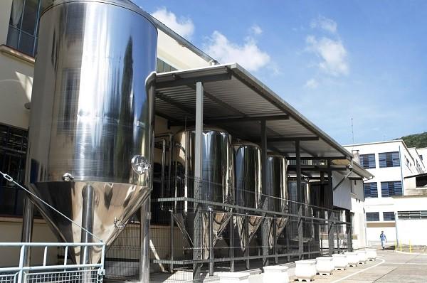 Foto de 2012 na fábrica da cervejaria no bairro Mosela, em Petrópolis