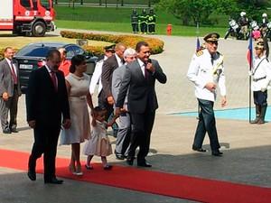 Rui Costa (PT), governador eleito da Bahia, no início da cerimônia de posse (Foto: Ruan Melo/G1)