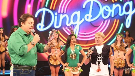 Líder da Carrapicho se emociona no 'Domingão': 'Quando a produção ligou, tomei um susto'