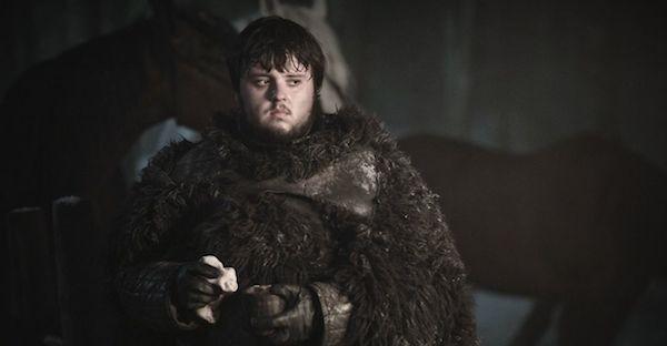 John Bradley (Samwell Tarly) em Game of Thrones (Foto: Reprodução)