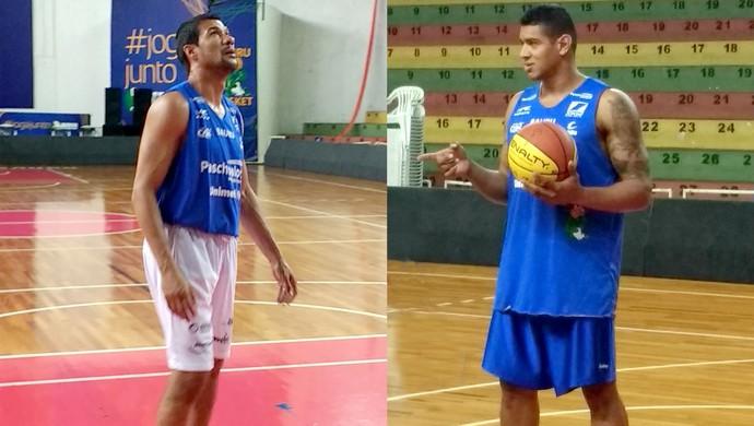 Valtinho, Shilton, reforços, Bauru Basket (Foto: Sérgio Pais)