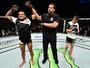 Sergio Pettis emplaca quarta vitória, mas adota cautela ao falar de cinturão