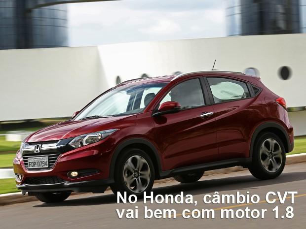 Desempenho do Honda HR-V (Foto: Divulgação)