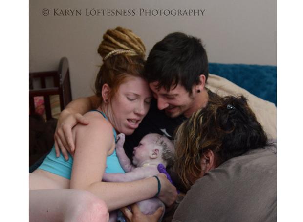 parto (Foto: Karyn Loftesness Photography)