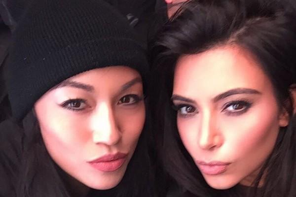 Kim Kardashian e sua amiga e ex-assistente pessoal Stephanie Shepherd (Foto: Instagram)