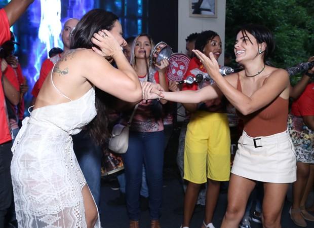 Viviane Araújo e Vanessa Giácomo (Foto: Anderson Borde/AgNews)
