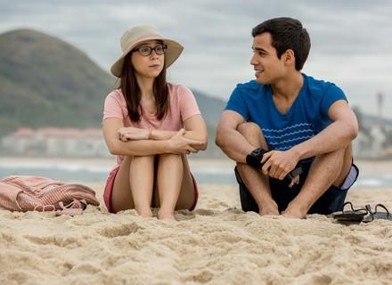 Benê e Guto viajam juntos para o Rio de Janeiro