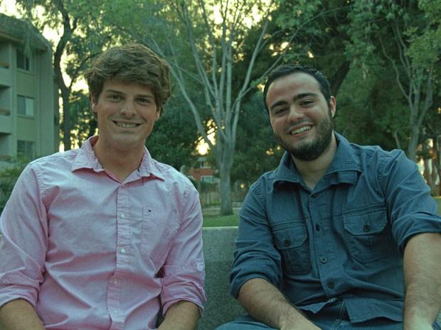 Danilo Roselli, de 26 anos, e Alexandre Muller, de 24, criaram um negócio próprio em 2014  (Foto: Divulgação)