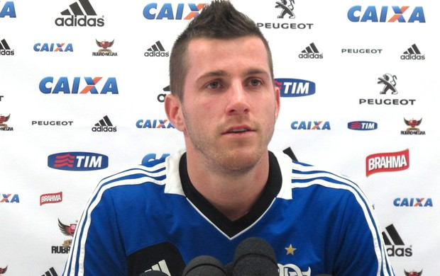 Paulo Victor, goleiro do Flamengo (Foto: Bernardo Eyng)