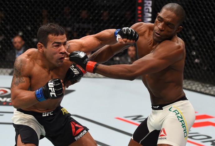 Michel Trator Valmir Bidu Lázaro UFC Monterrey (Foto: Getty Images)